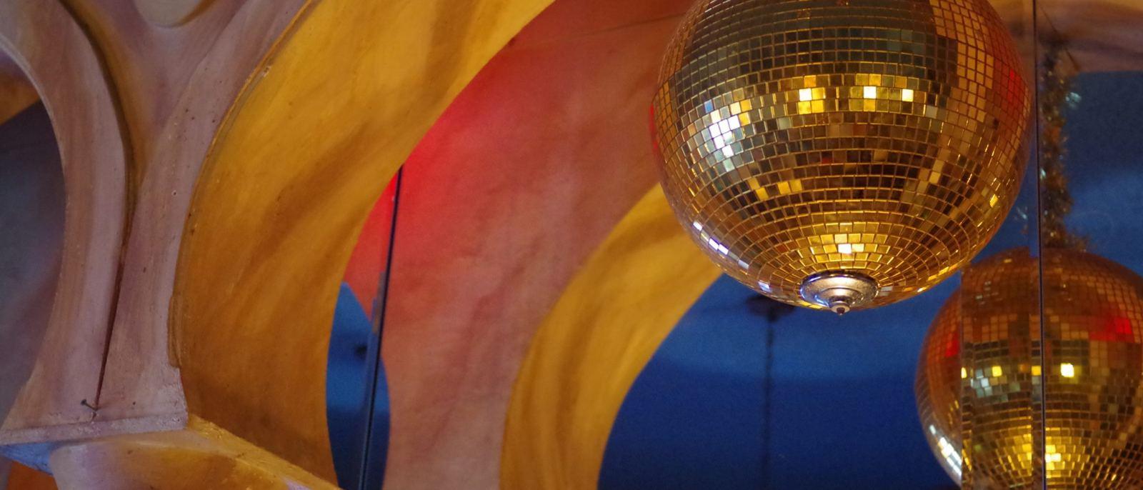 Akbar Silver Lake disco balls