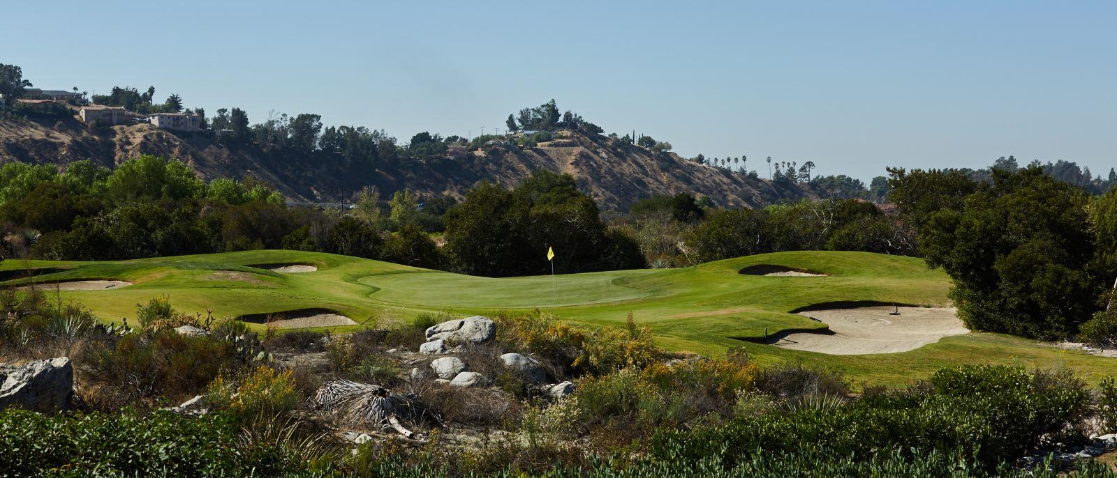 Angeles National Golf Club 12 Tee