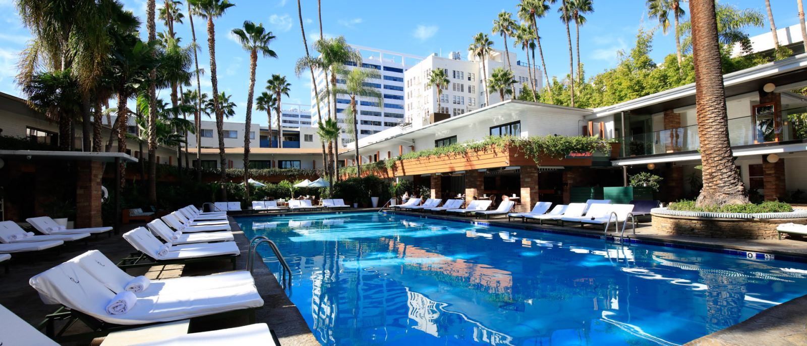 Hollywood Roosevelt Tropicana Pool and Cabanas