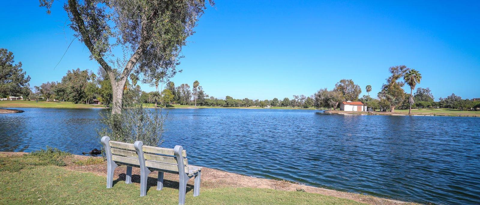 Lakewood Golf Course lake