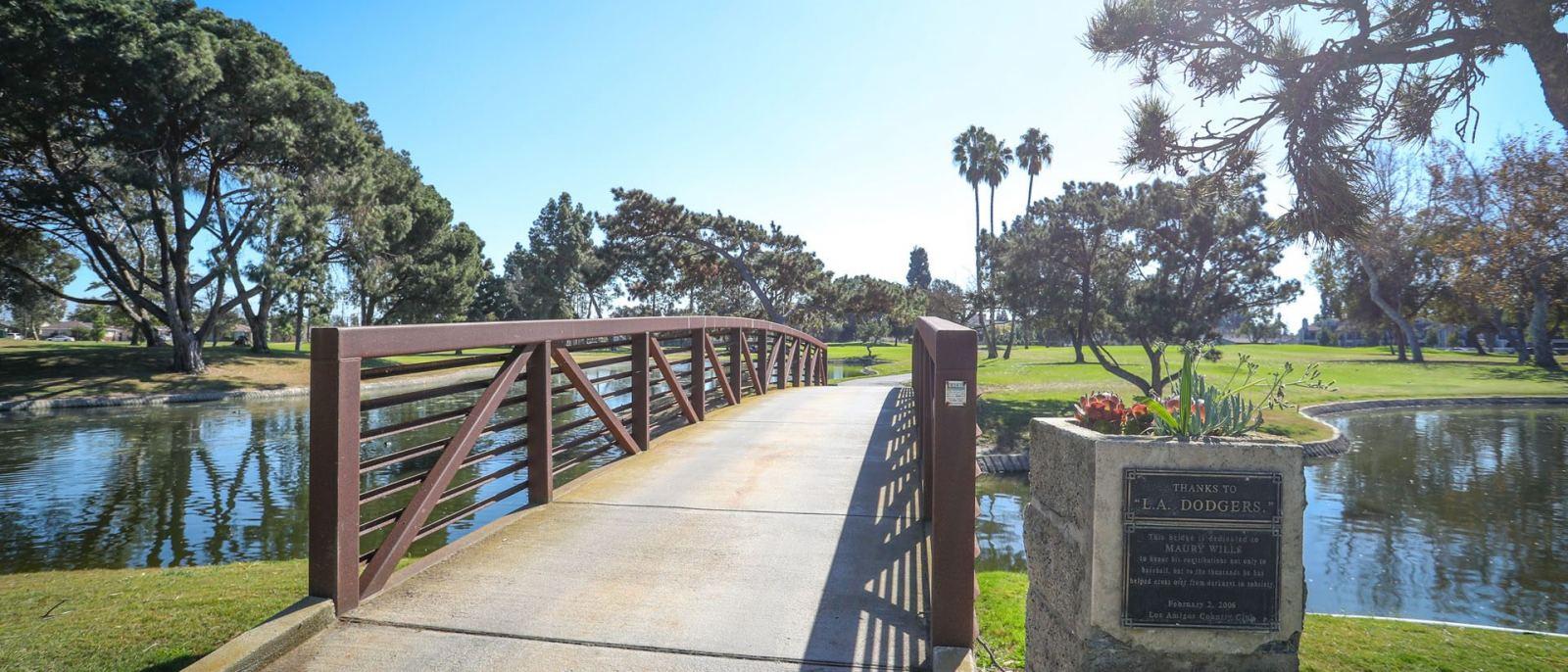 Los Amigos Golf Course bridge