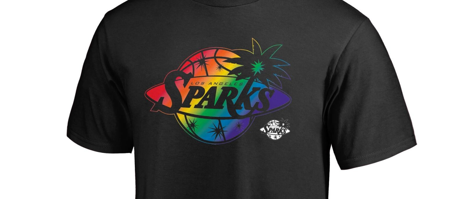 Los Angeles Sparks WNBA Pride T-shirt