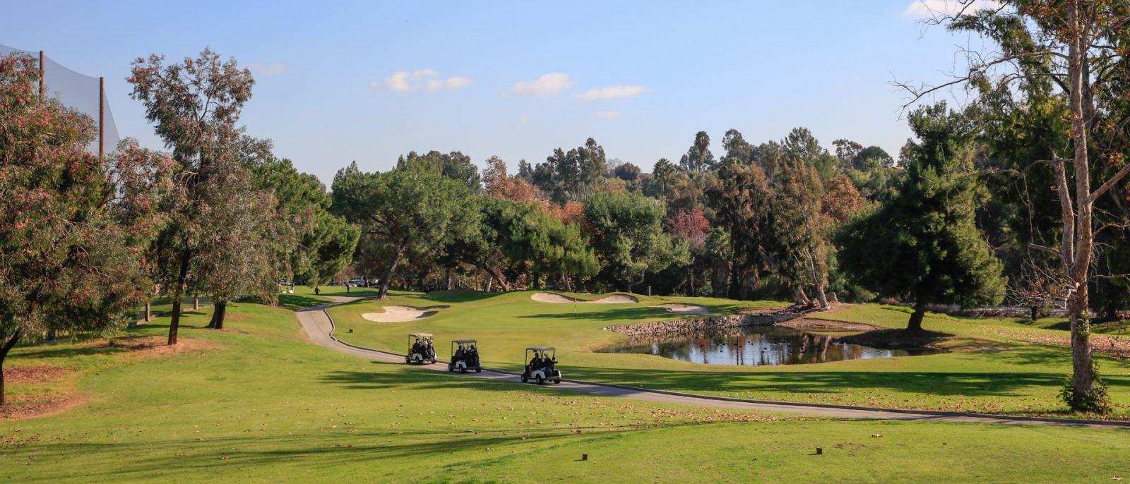 Mountain Meadows Golf Course golf carts