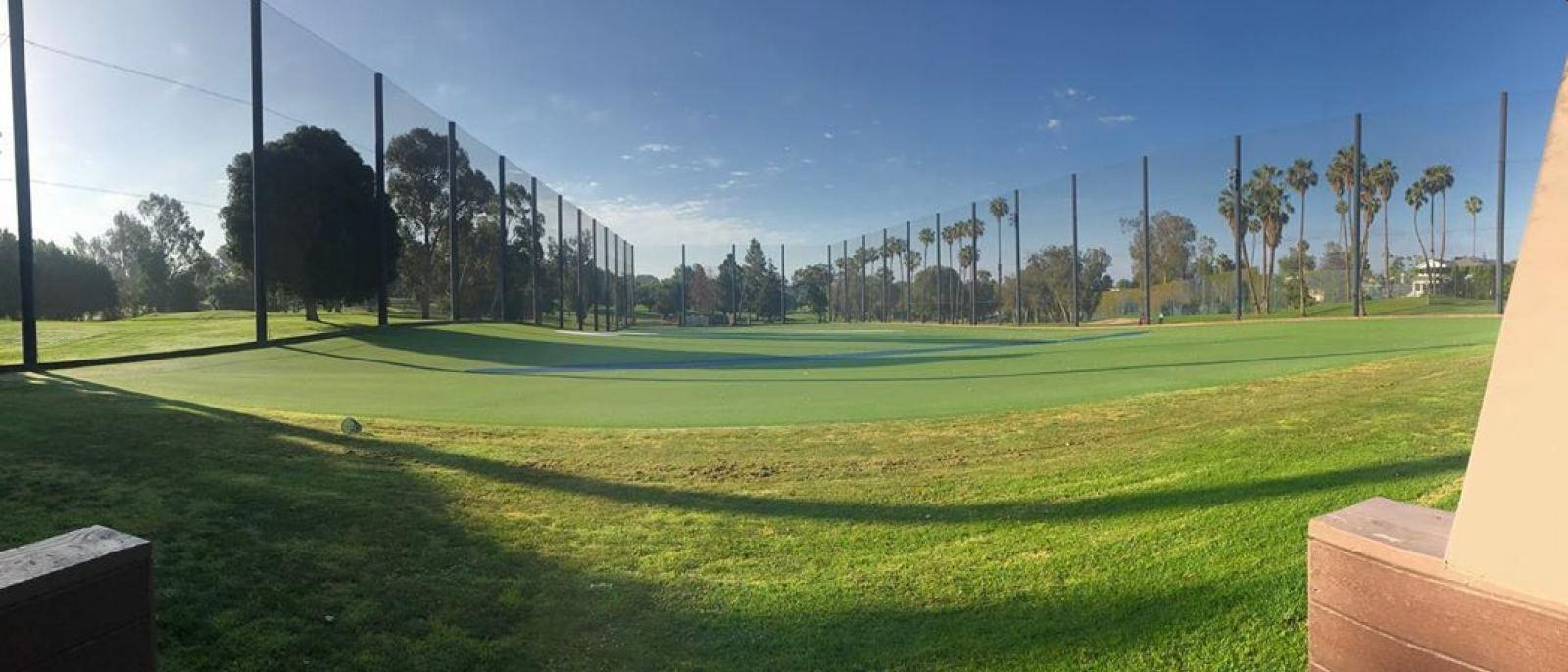 Rancho Park Golf Course driving range