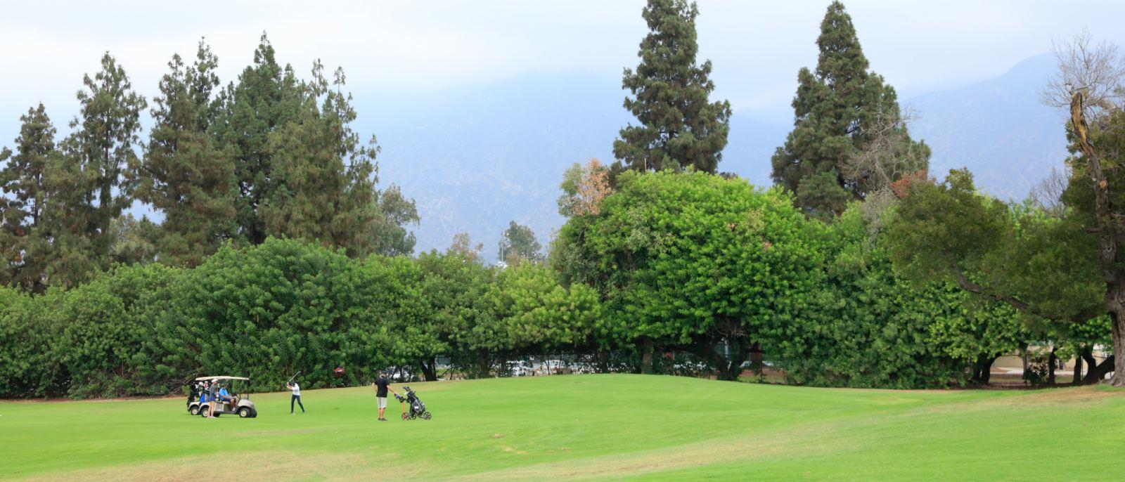 Santa Anita Golf Course golfers