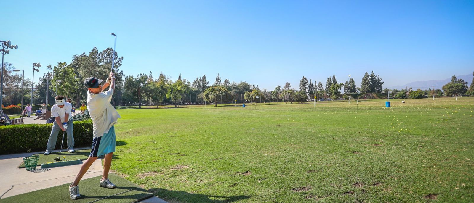 Whittier Narrows Golf Course driving range
