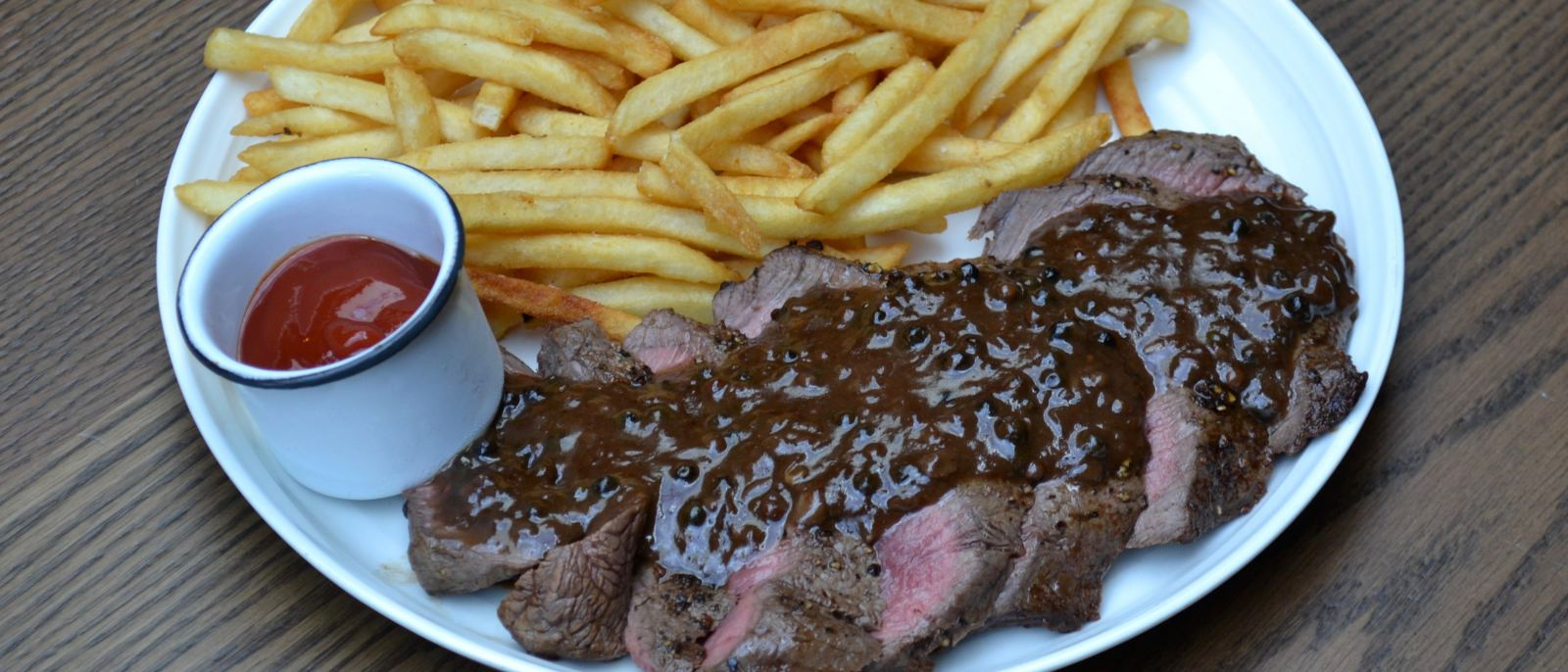 Steak Frites at Free Play in The Fields LA