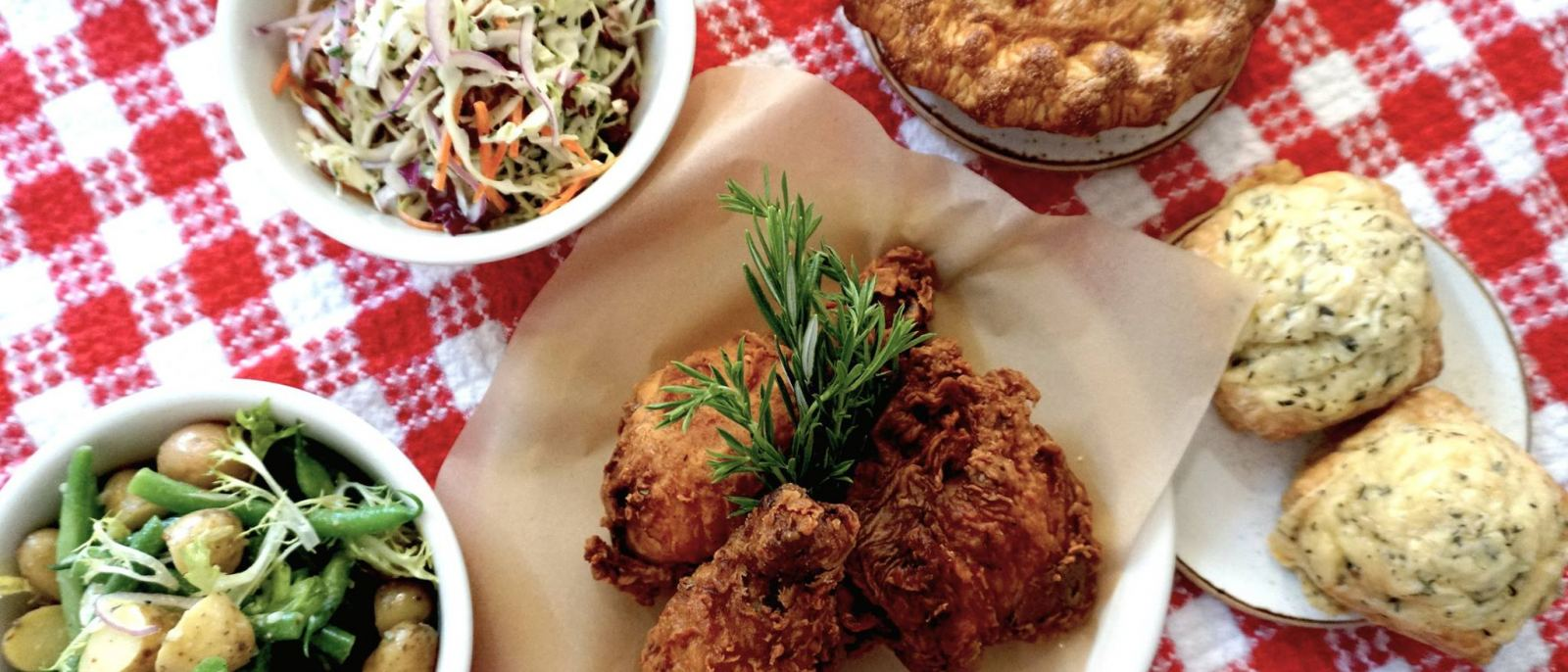Cold Fried Chicken Picnic Basket at Friends & Family