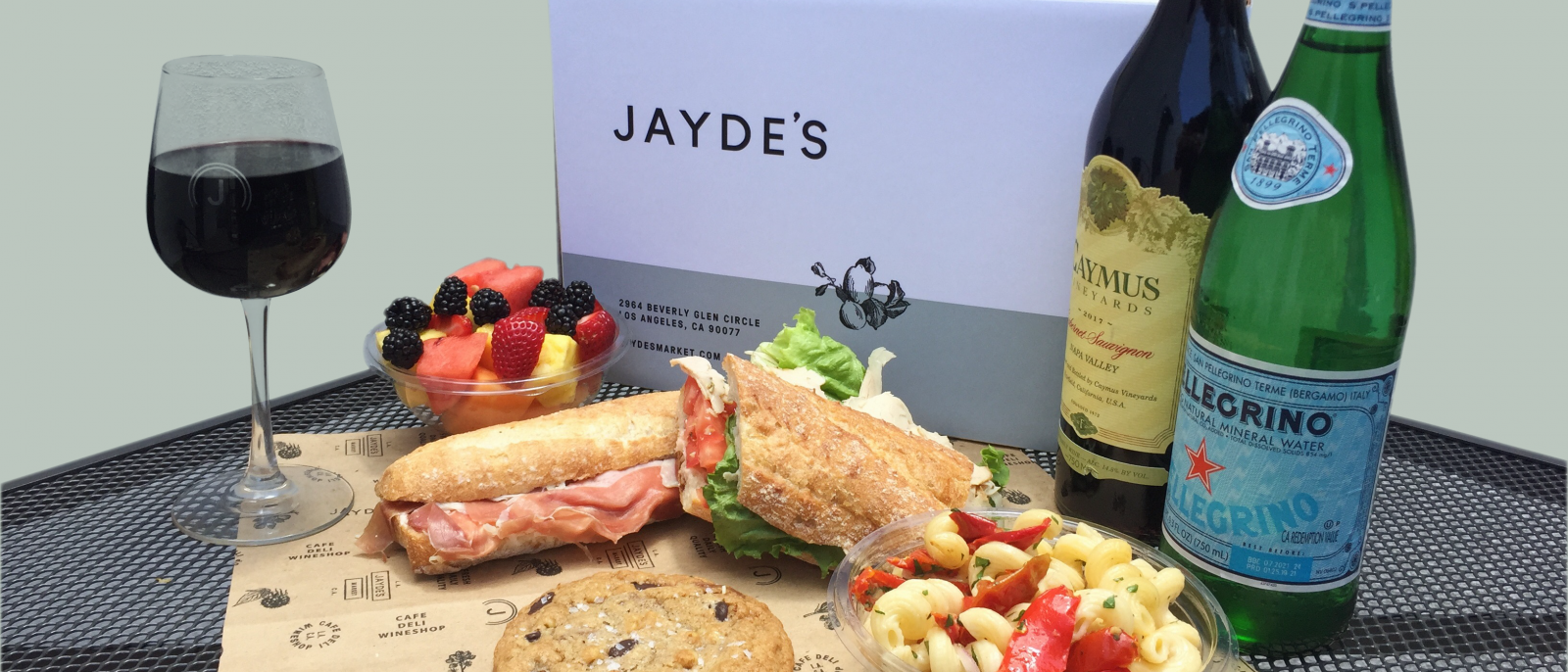 Summer Concert Picnic Box from Jayde's Market