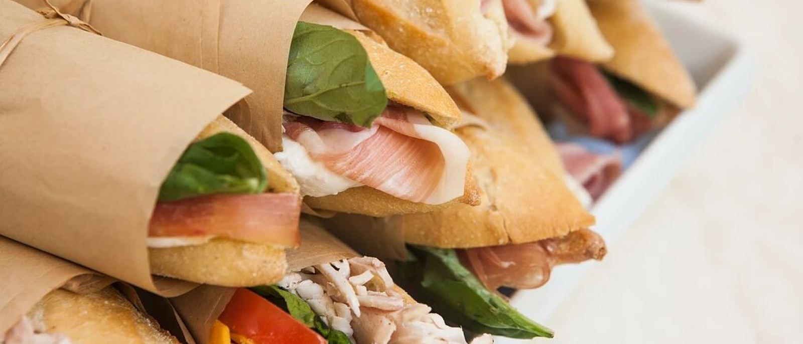 Ficelle sandwiches at Sweet Butter Kitchen