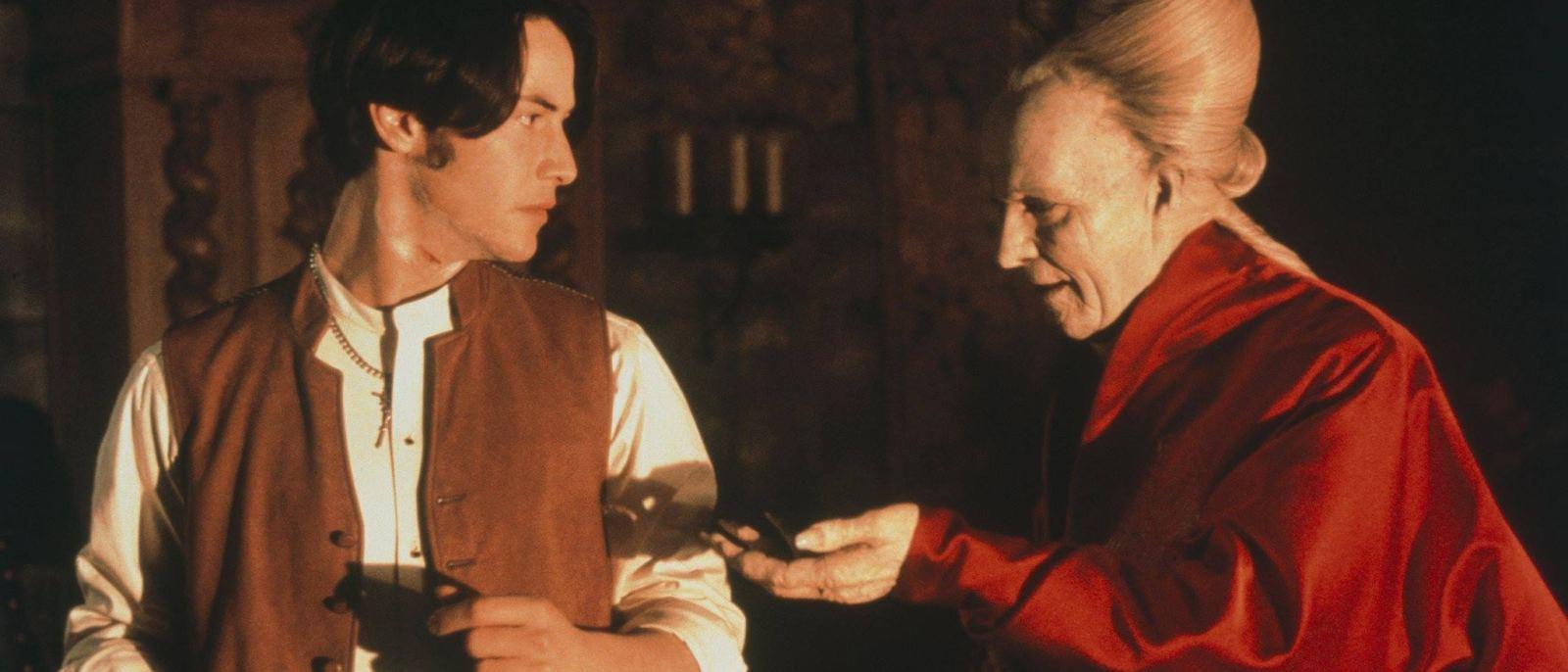 """Keanu Reeves and Gary Oldman in """"Bram Stoker's Dracula"""" (1992)"""