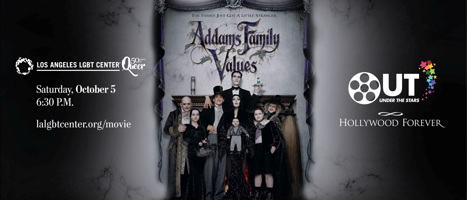 """Los Angeles LGBT Center """"Addams Family Values"""" at Hollywood Forever"""