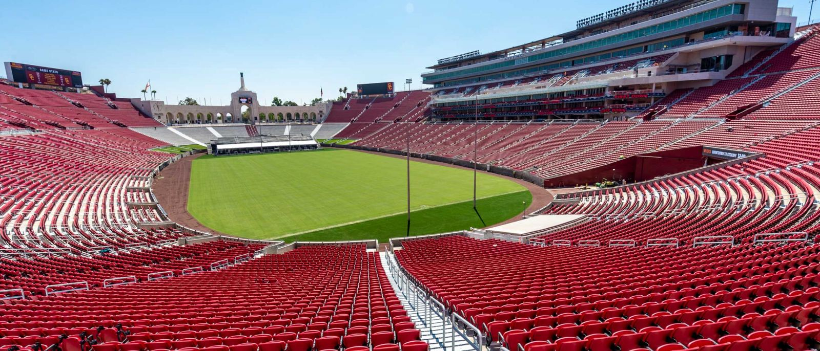 United Airlines Field at Los Angeles Memorial Coliseum