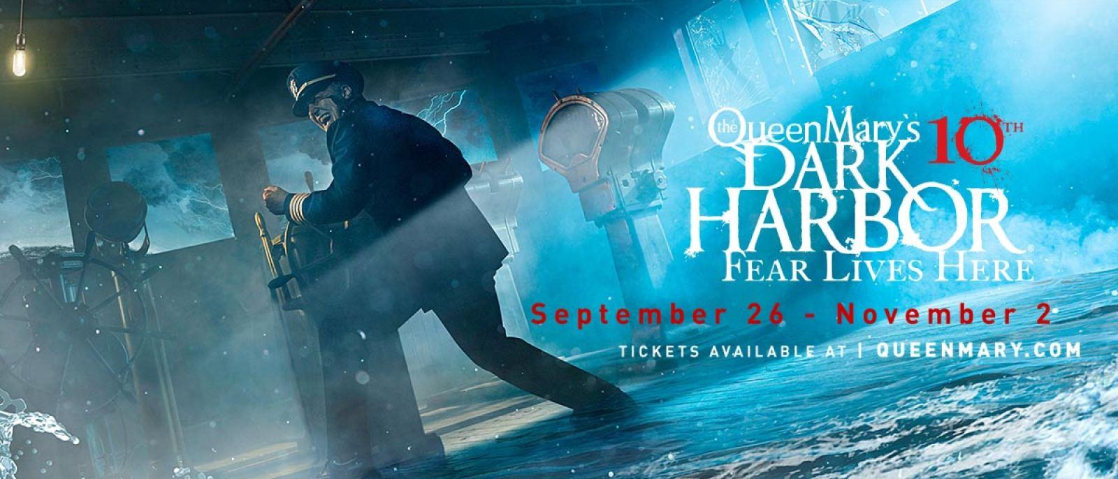 The Captain | Photo: The Queen Mary's Dark Harbor, Facebook