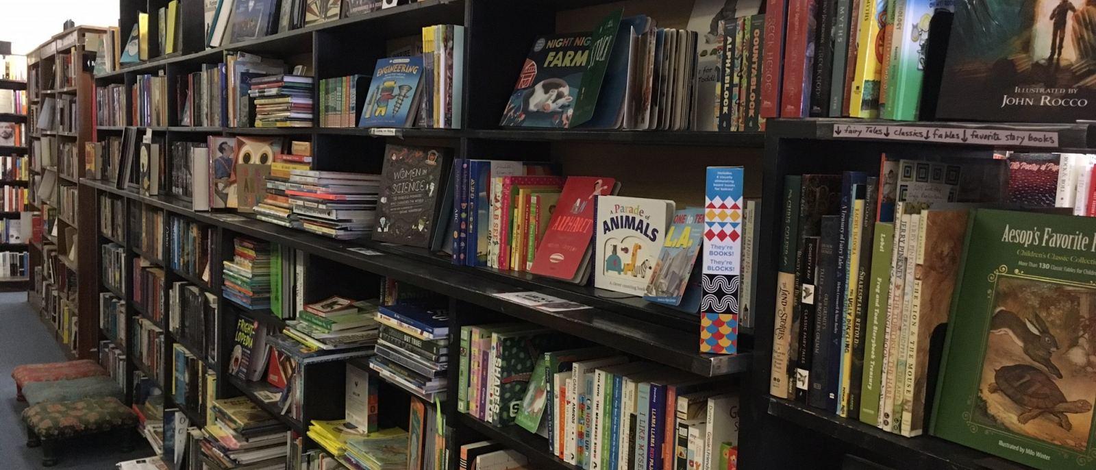 Small World Books children's section