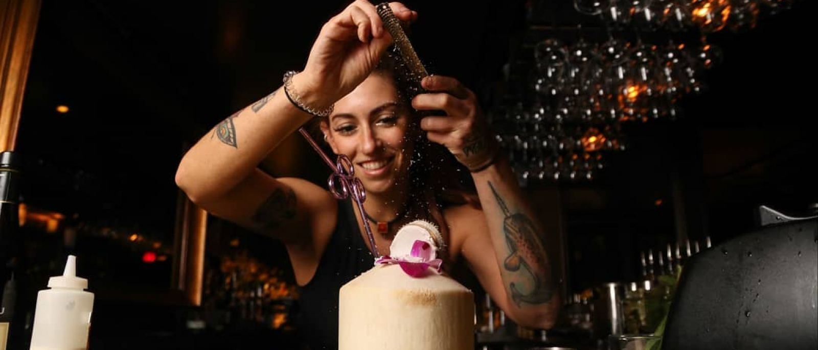 Bar manager Yael Vengroff makes the Cabana Club at The Spare Room
