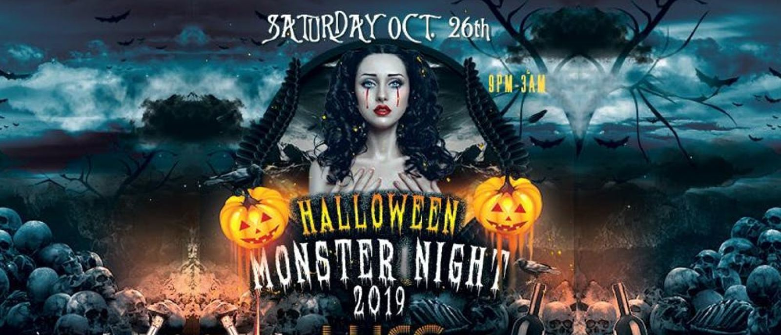 Hollywood Monster Night at LURE