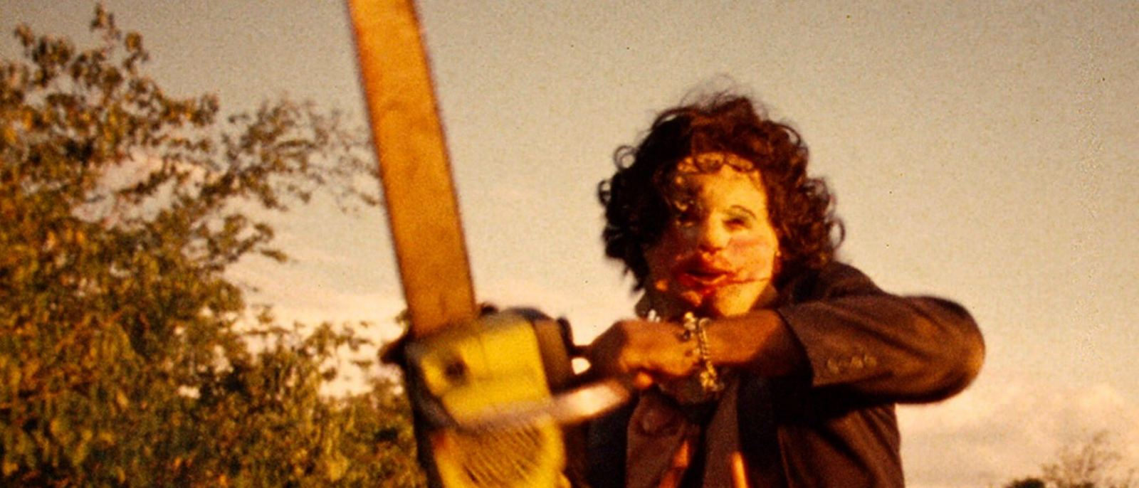 """Leatherface in """"The Texas Chainsaw Massacre"""" (1974)"""