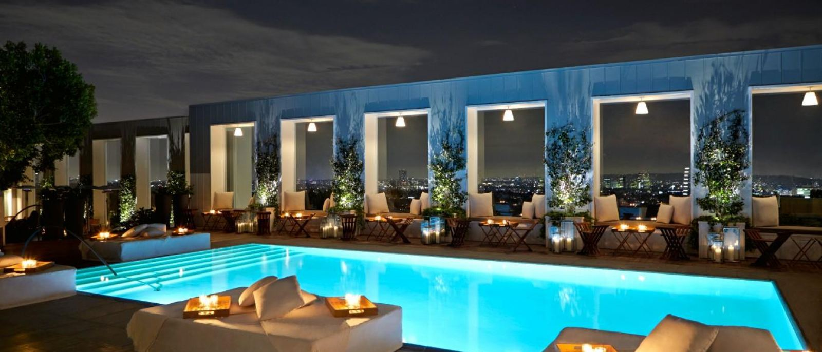 Skybar at the Mondrian Hotel