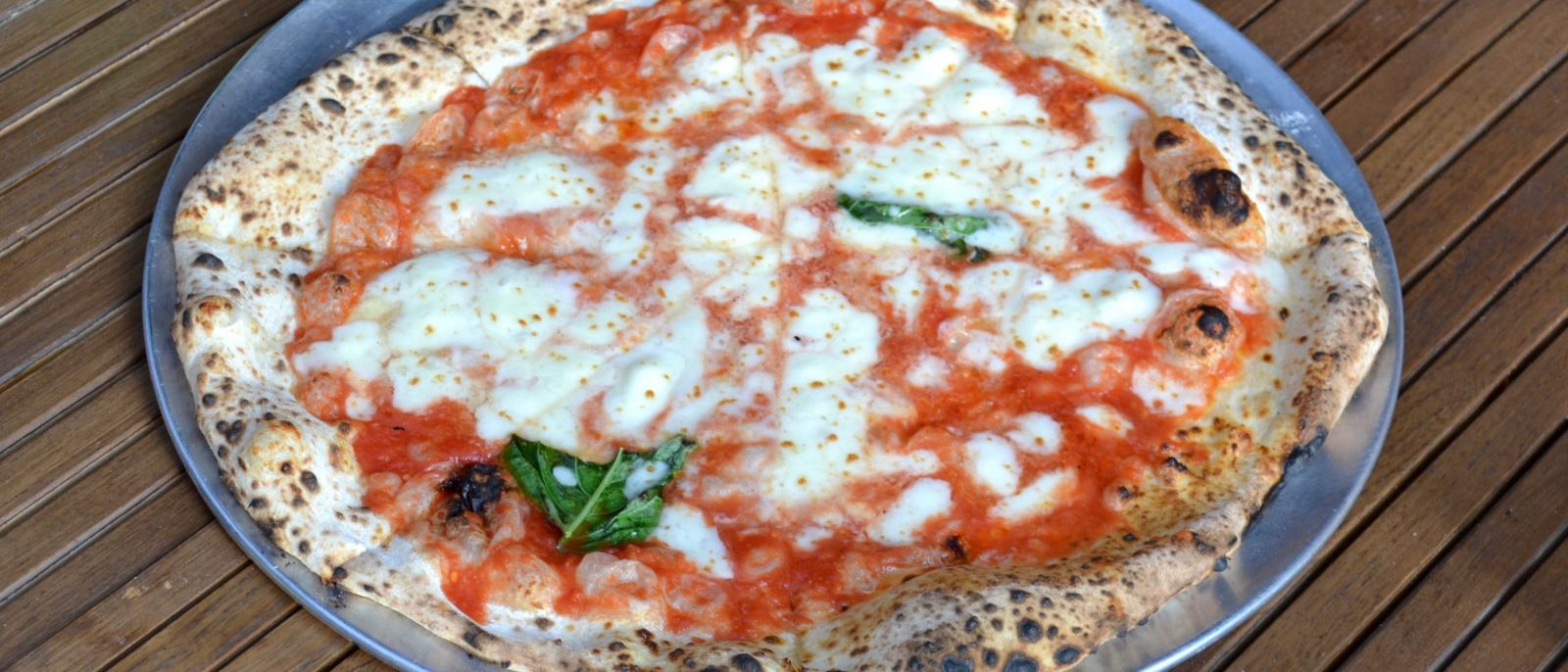 Margherita Pizza at L'Antica Pizzeria da Michele in Hollywood