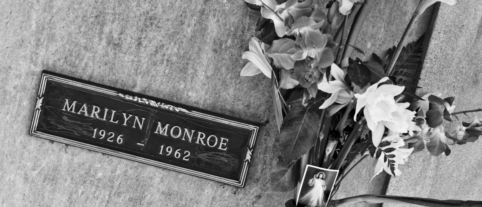 Marilyn Monroe's crypt atPierce Brothers Westwood Village Memorial Park & Mortuary