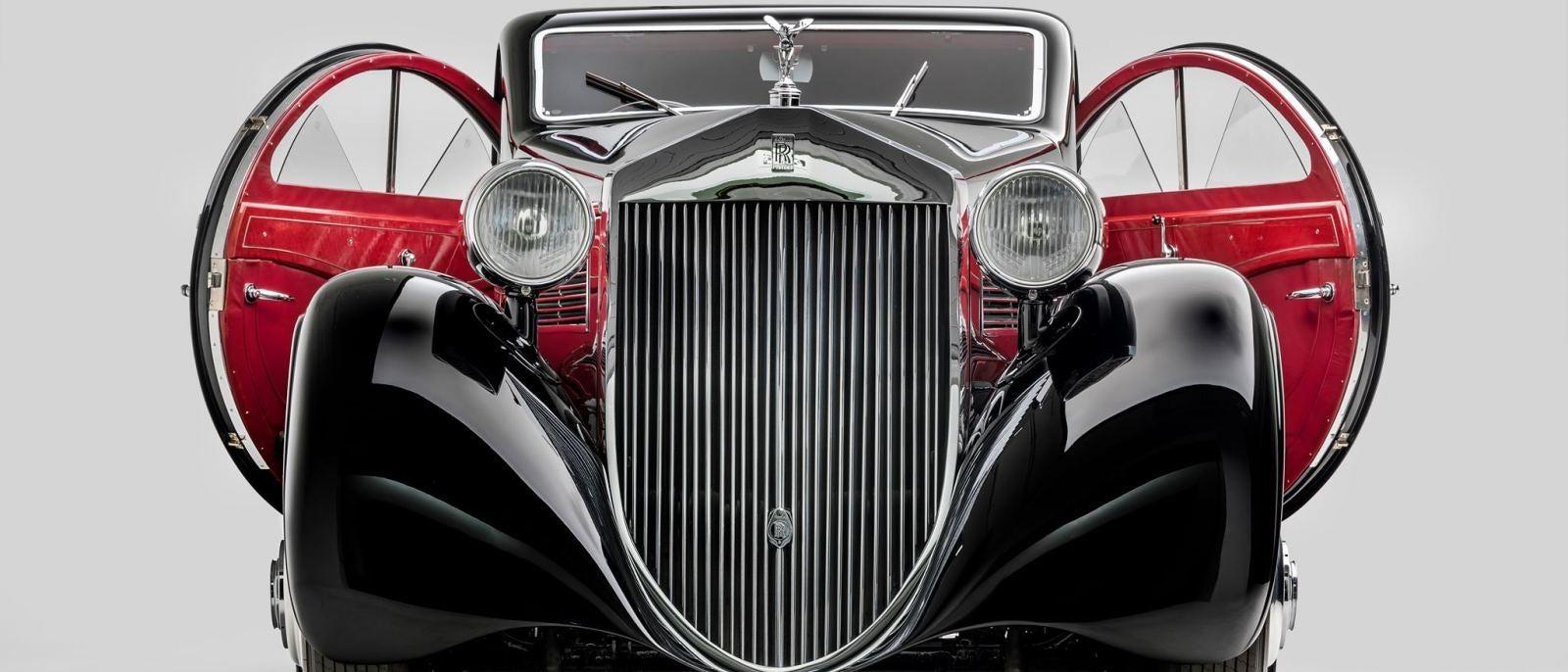 """1925/34 """"Round Door""""Rolls Royce at the Petersen Automotive Museum"""