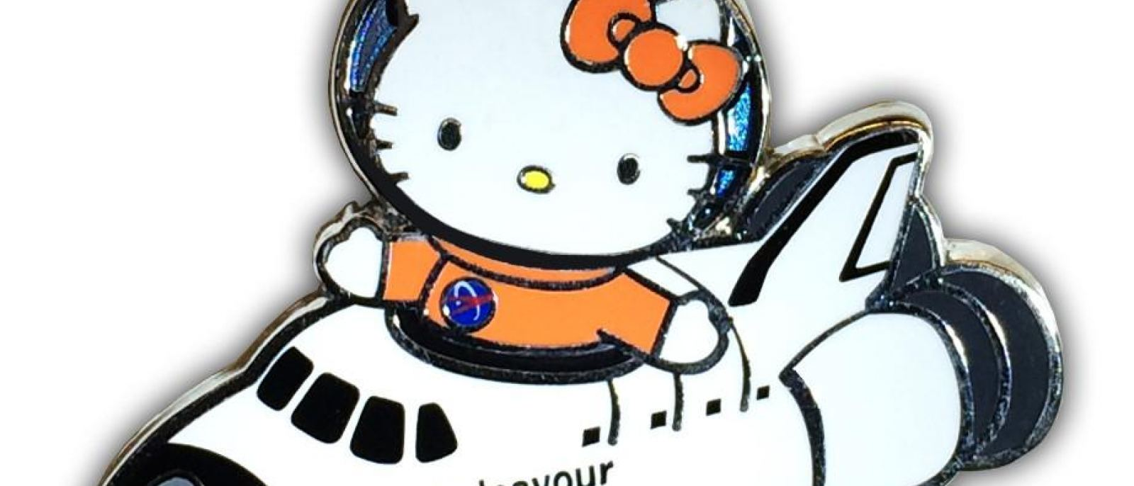 """Hello Kitty """"Endeavour Pilot"""" Collectible Pin at the California Science Center"""