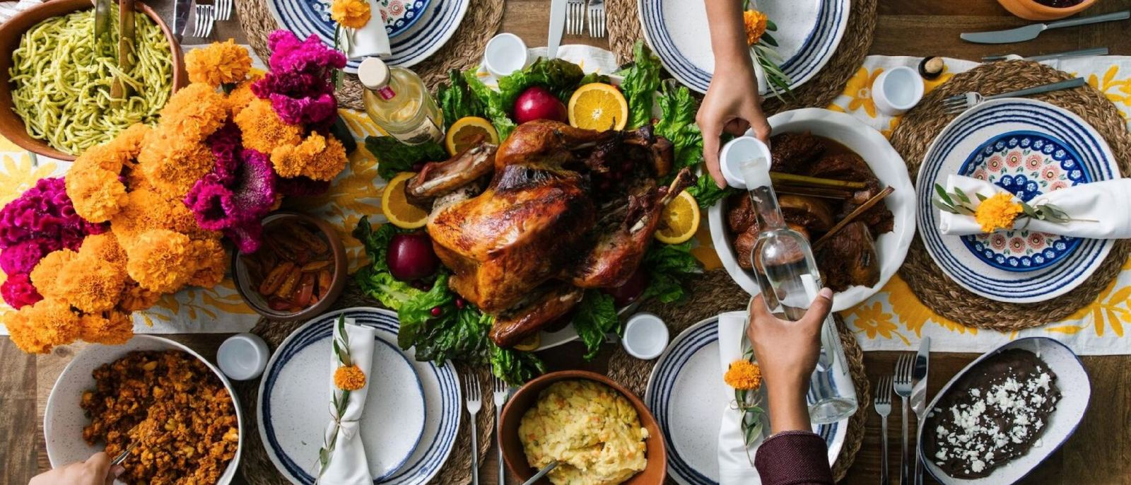 Thanksgiving Dinner To Go at Guelaguetza
