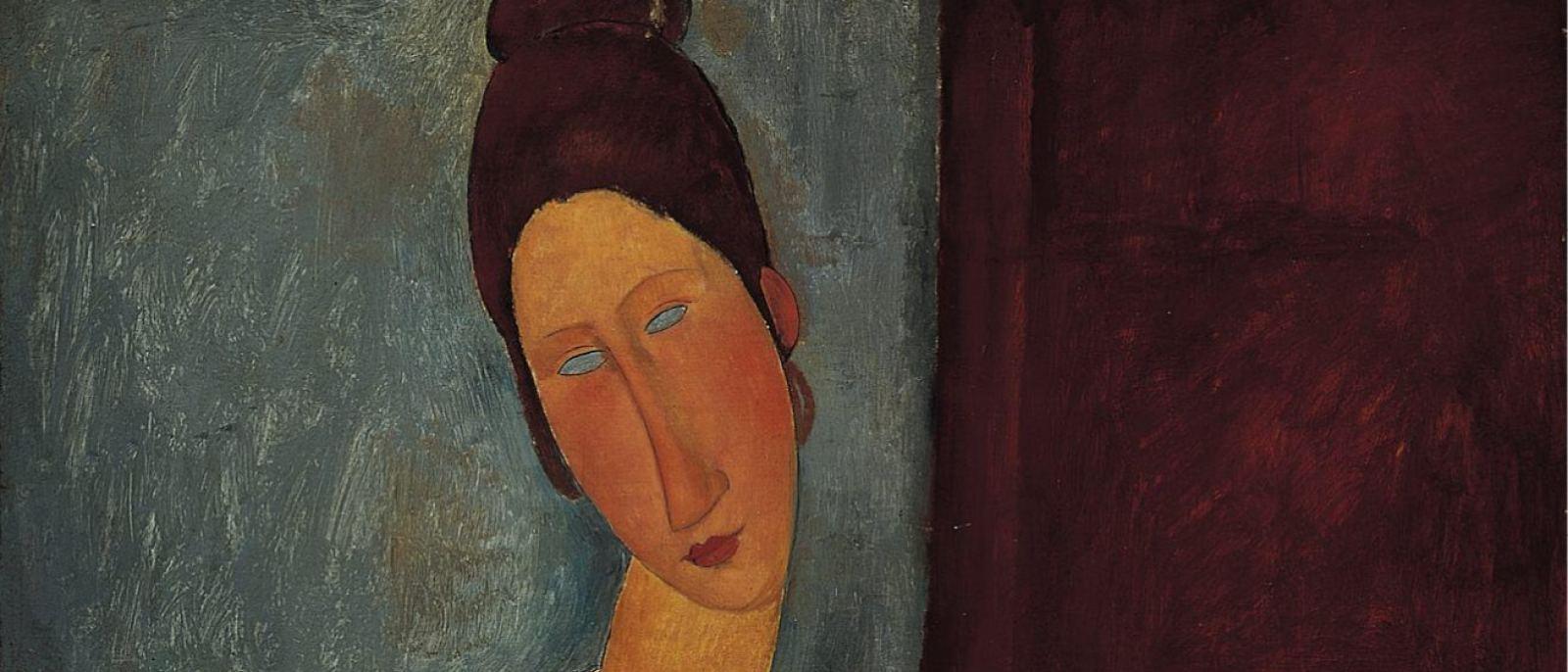 "Amedeo Modigliani ""Portrait of the Artist's Wife"" (1918) at the Norton Simon Museum"