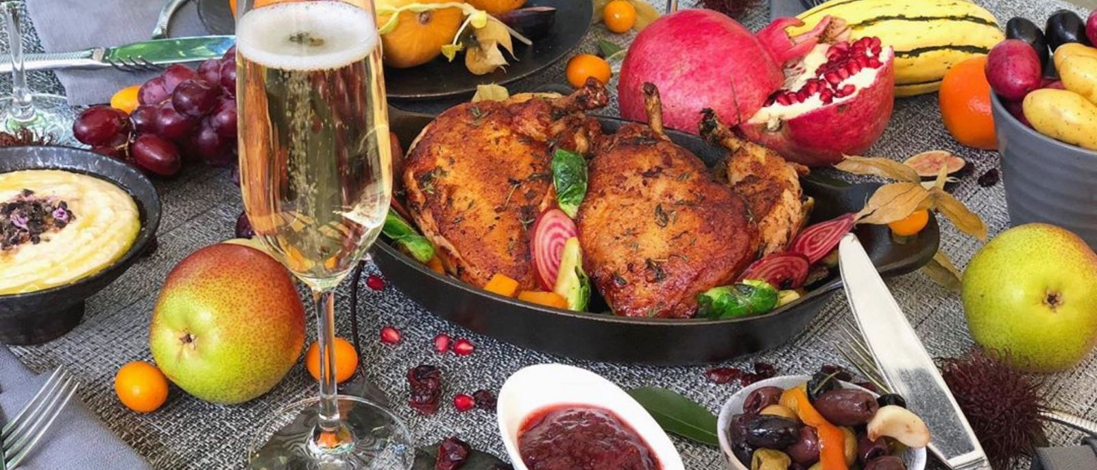 Thanksgiving Dinner at Cavatina in the Sunset Marquis