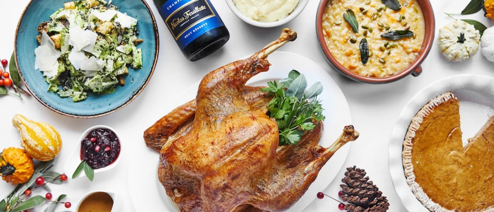 Thanksgiving at Home from The Belvedere at The Peninsula Beverly Hills