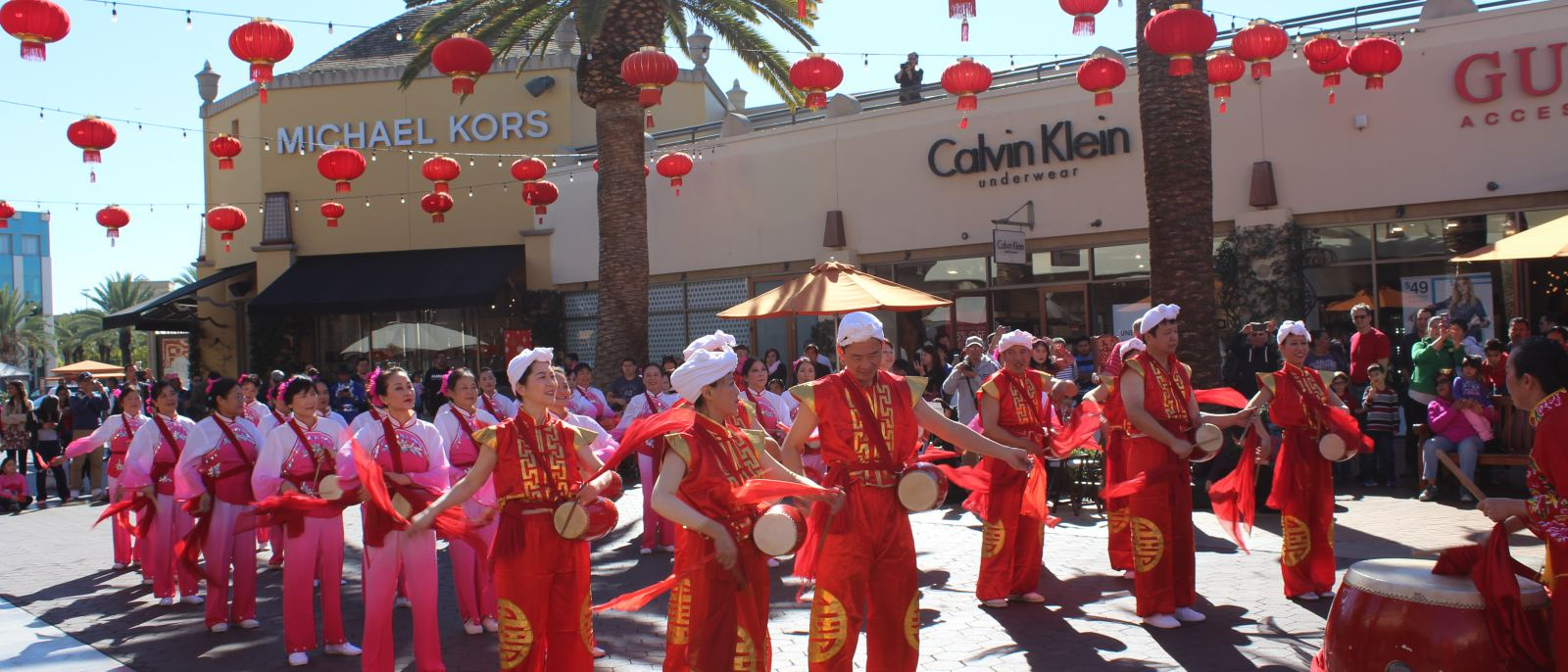 Lunar New Year celebration at Citadel Outlets