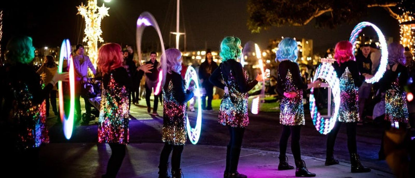 New Year's Eve Fireworks & Glow Party at Burton Chace Park in Marina del Rey