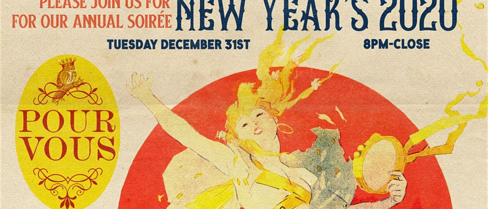 Roaring Twenties NYE Soiree at Pour Vous in Hollywood