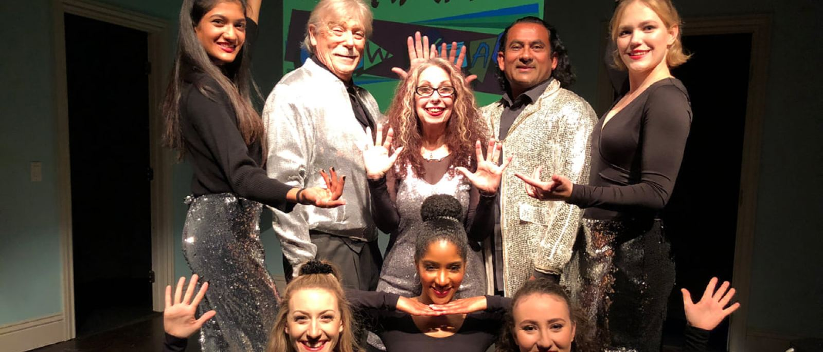 Cast of the Annual One-Time-Only New Year's Eve Revue at Santa Monica Playhouse