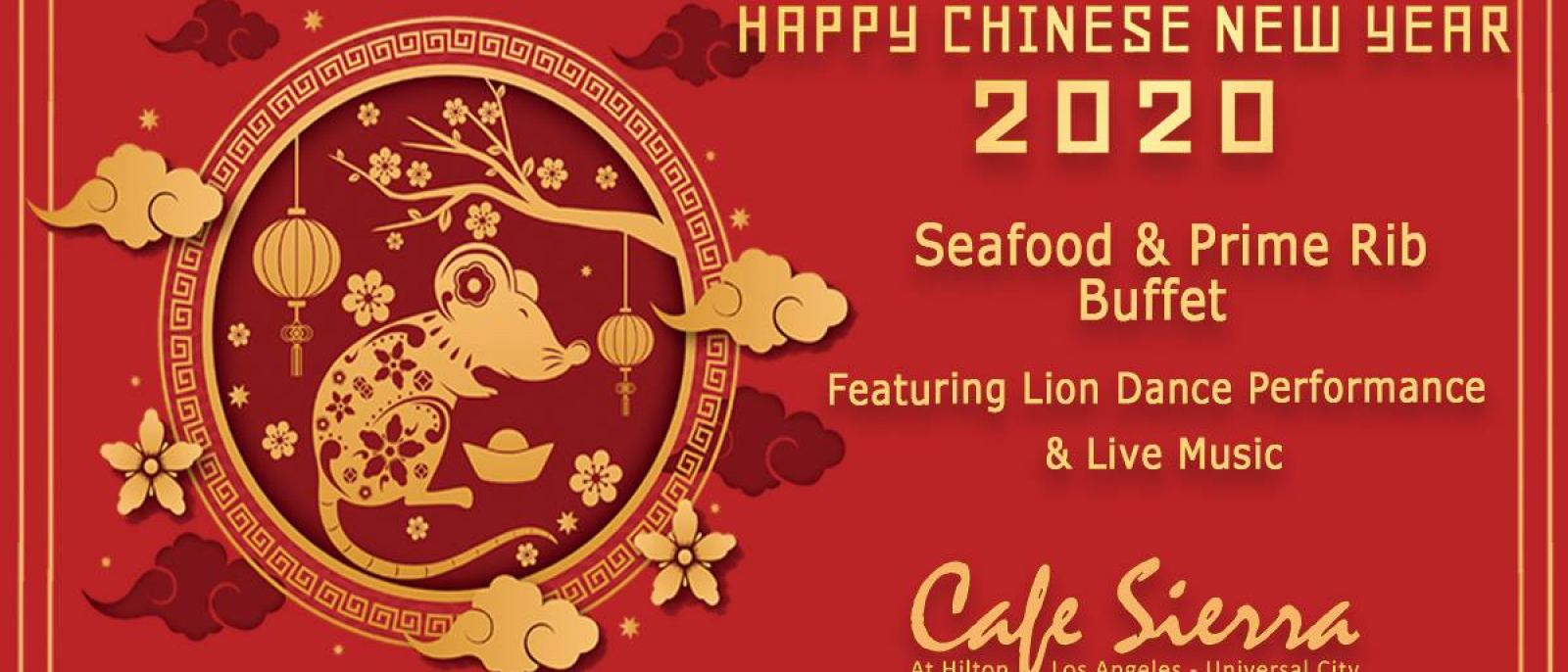 Chinese New Year Celebration at Cafe Sierra