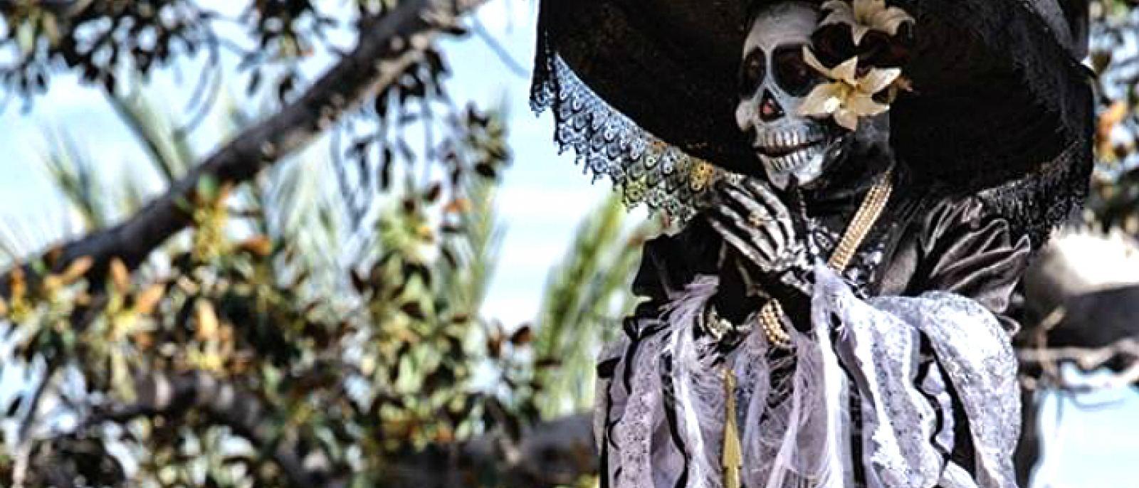 Dia de los Muertos Festival at Olvera Street