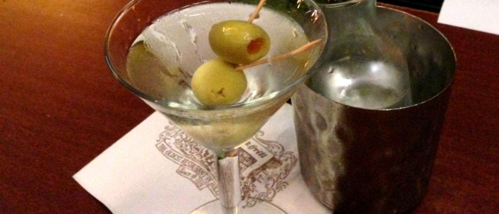 Gin Martini at Musso & Frank Grill