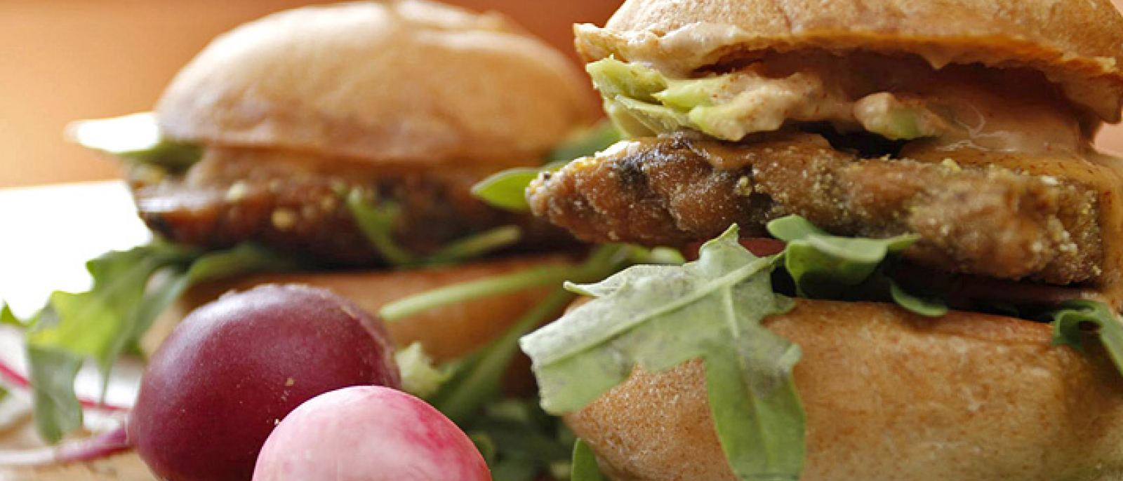Suncafe Organic Cornmeal Tempeh Sliders