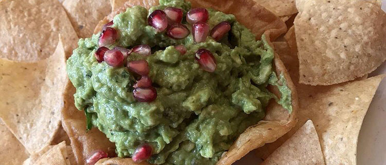 Guacamole en Rocio's Mexican Kitchen