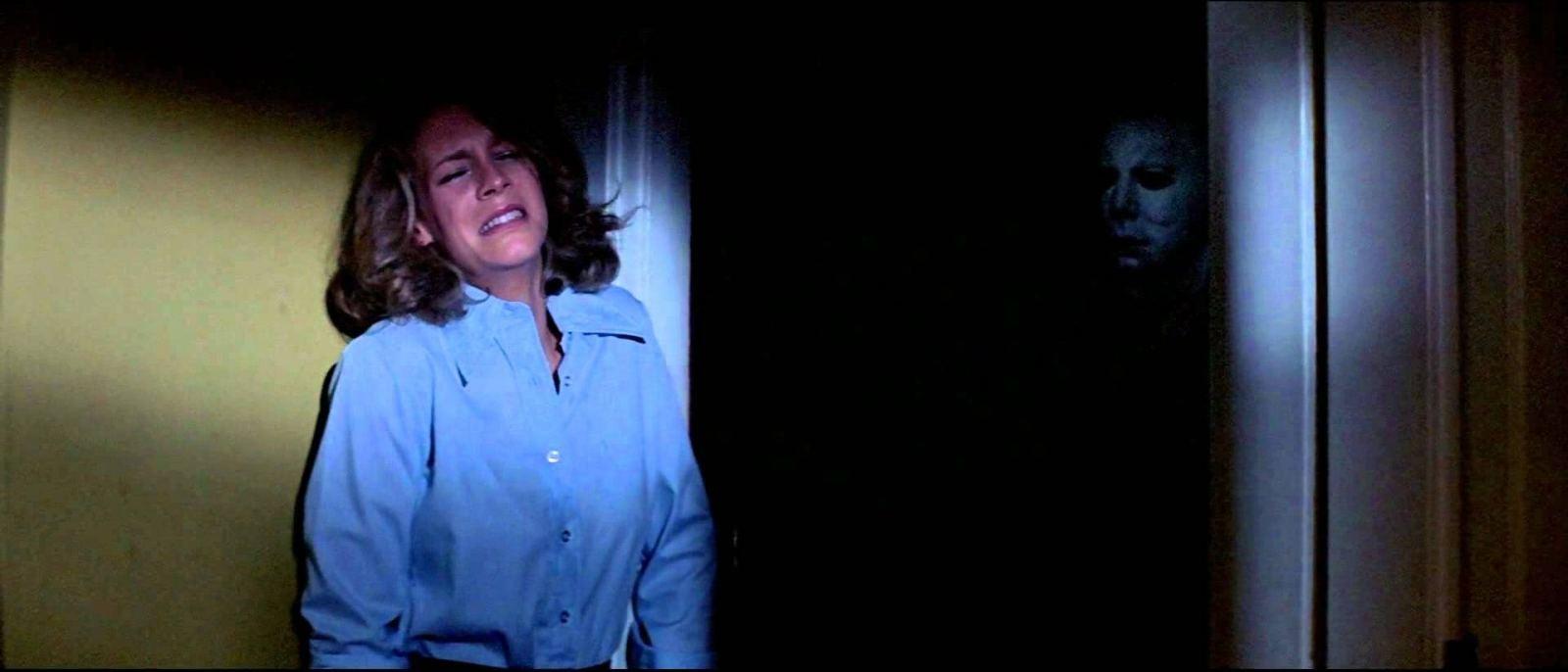 """Jamie Lee Curtis in """"Halloween"""" (1978)"""