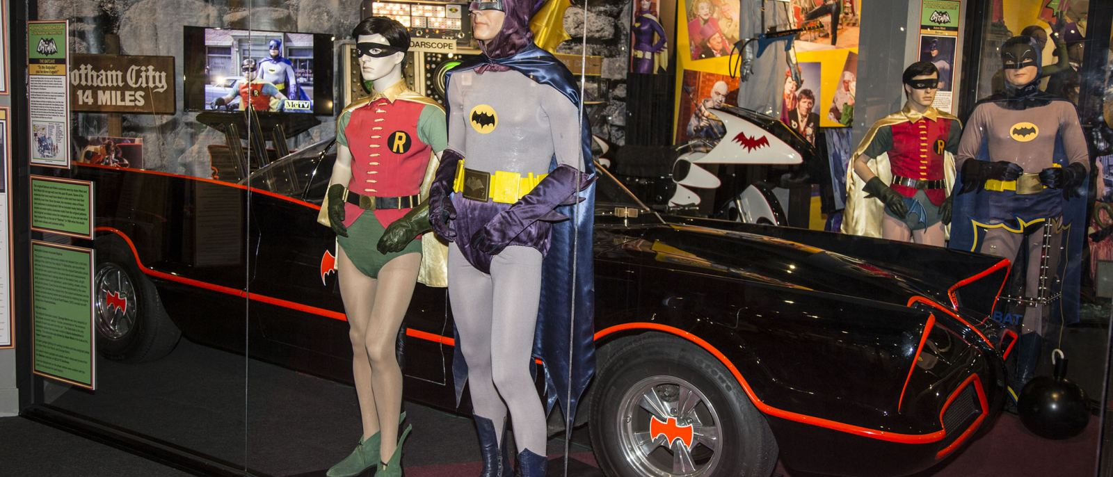 Holy Hollywood History, it's BATMAN '66! | Photo courtesy of the Hollywood Museum