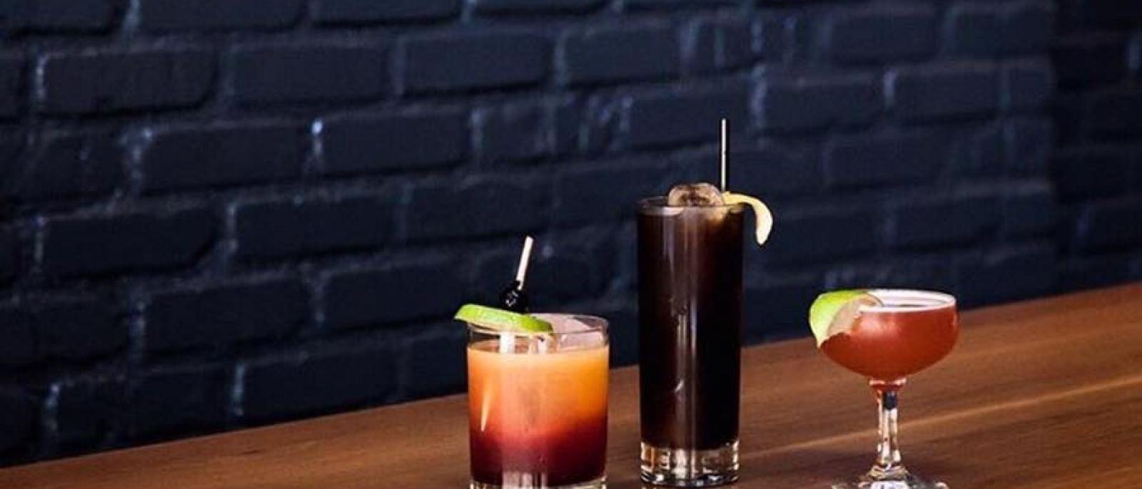 Brack Shop Tavern cocktails