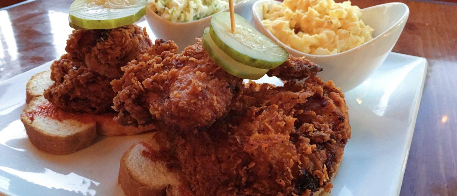 Nashville Hot Chicken Sandwich | Photo courtesy of Boneyard Bistro, Facebook