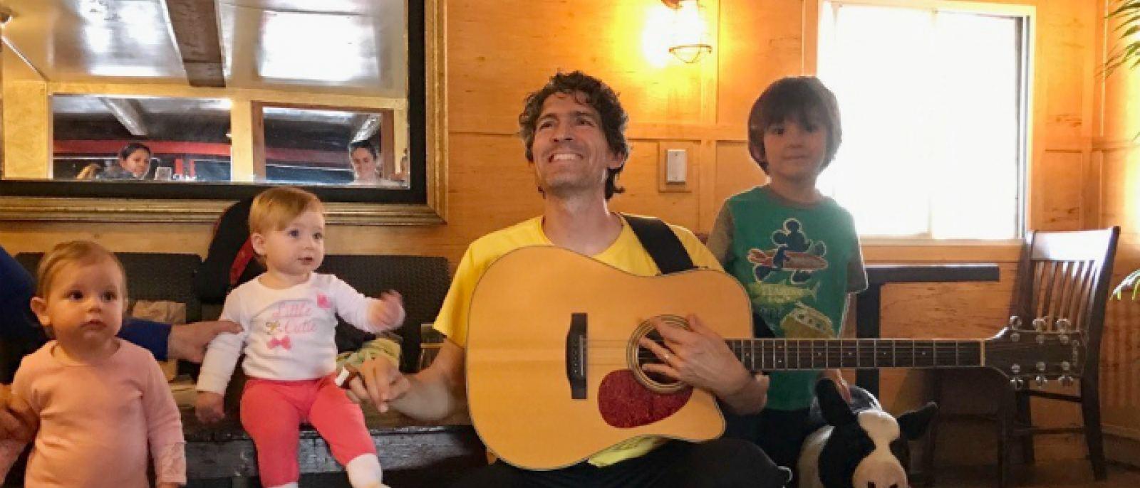 Singalong at The Cow's End Café