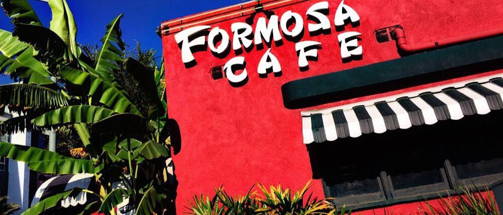 Formosa Cafe exterior sign