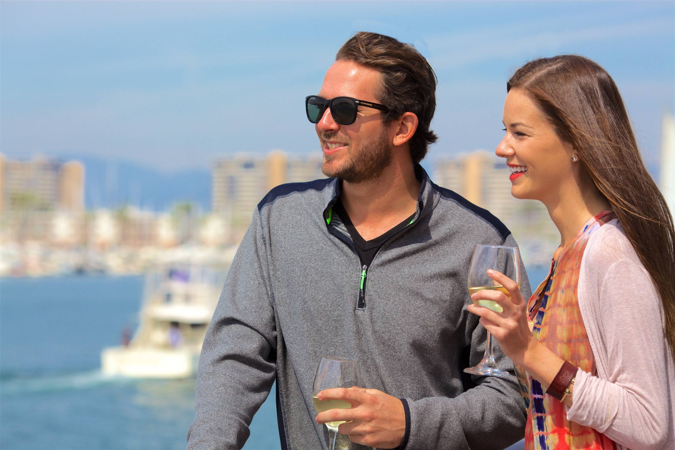Hornblower Cruises and Events couple