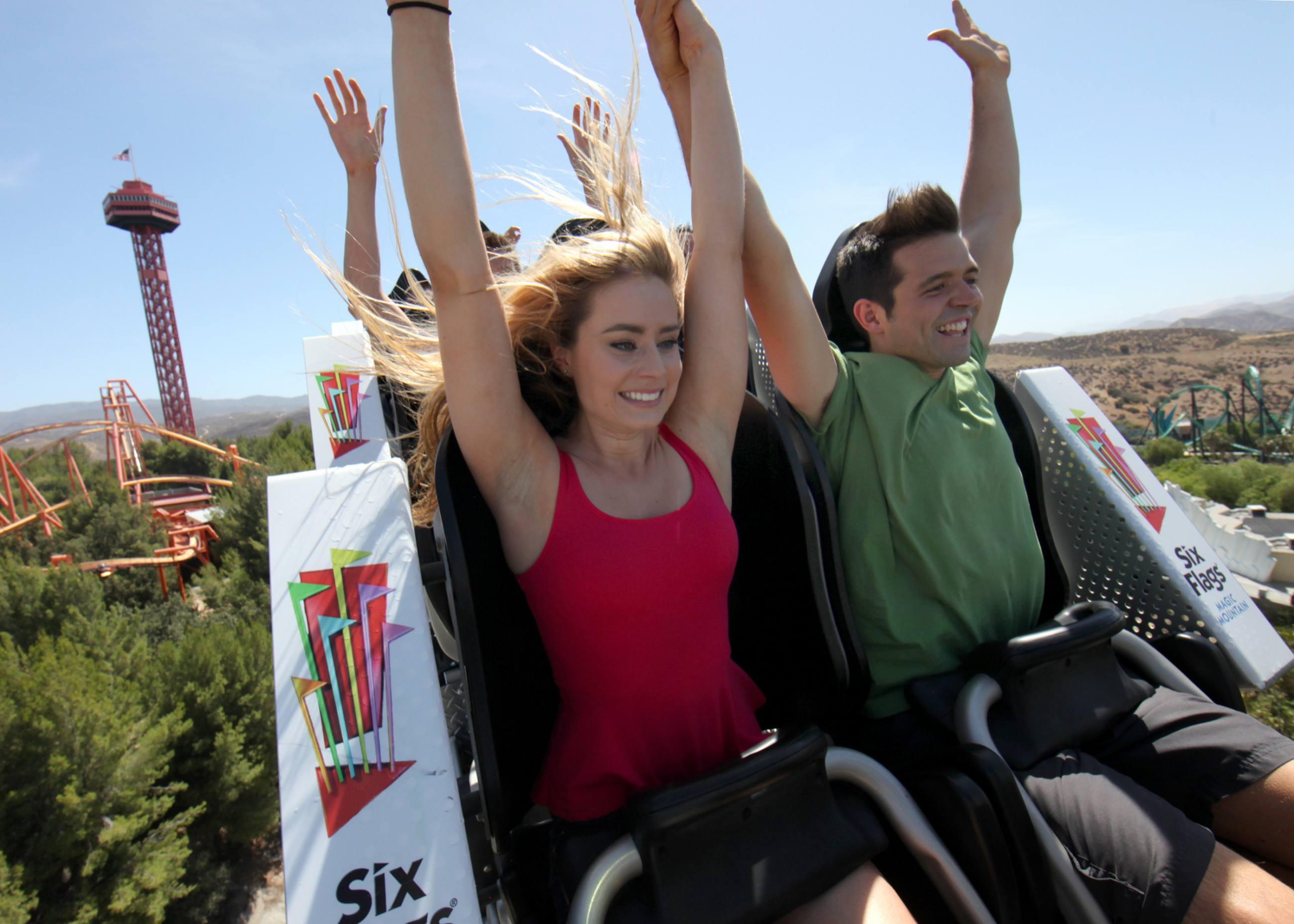 Full Throttle - Six Flags Magic Mountain