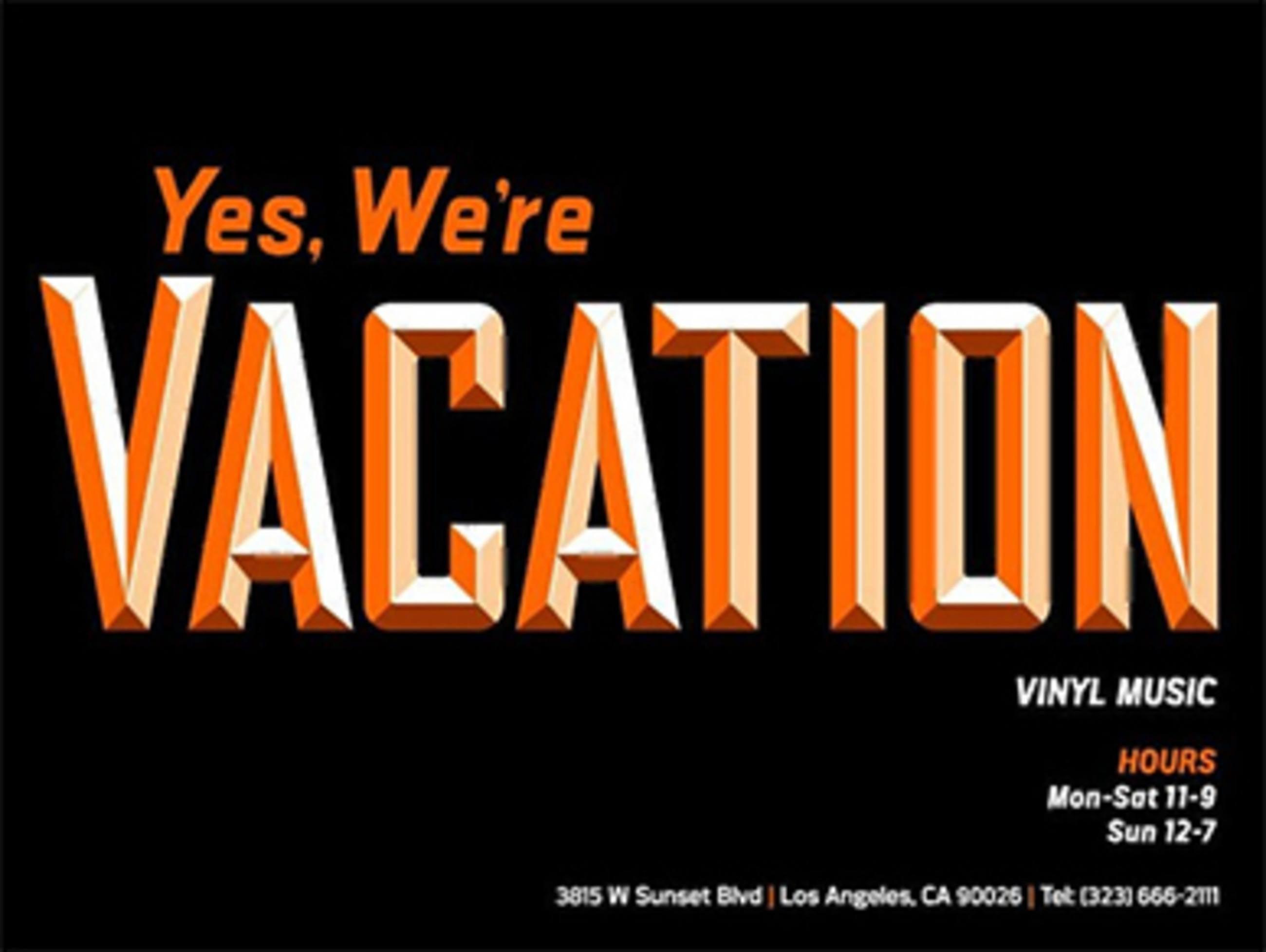 Vacation-Vinyl