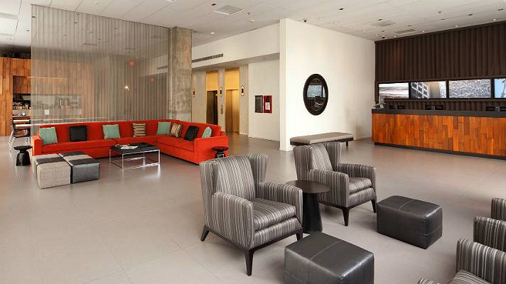 Custom Hotel lobby | Photo courtesy of Custom Hotel, Facebook